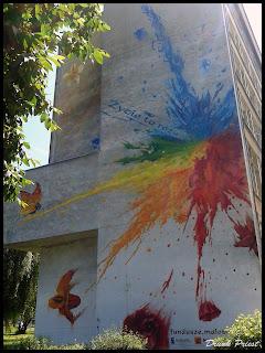 Mural na Akademii Rolniczej