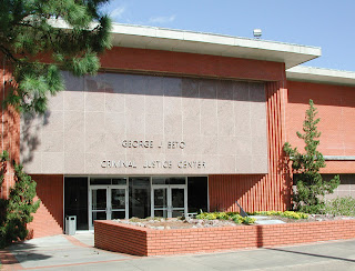 Picture of the front of the College of Criminal Justice building.