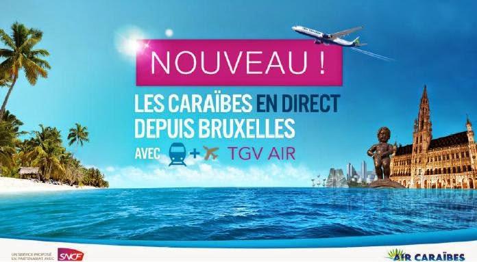 TGVAIR AIR CARAIBES BRUXELLES