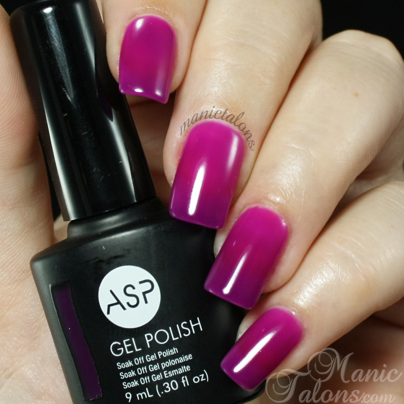 Gel Nail Polish Colors: Manic Talons Nail Design: ASP Gel Polish Sizzlin' Summer