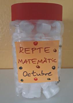 REPTE MATEMÀTIC OCTUBRE