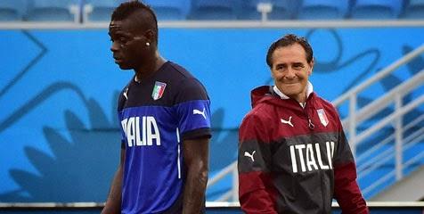 Balotelli Jadi Salah Satu Alasan Prandelli Mengundurkan Diri