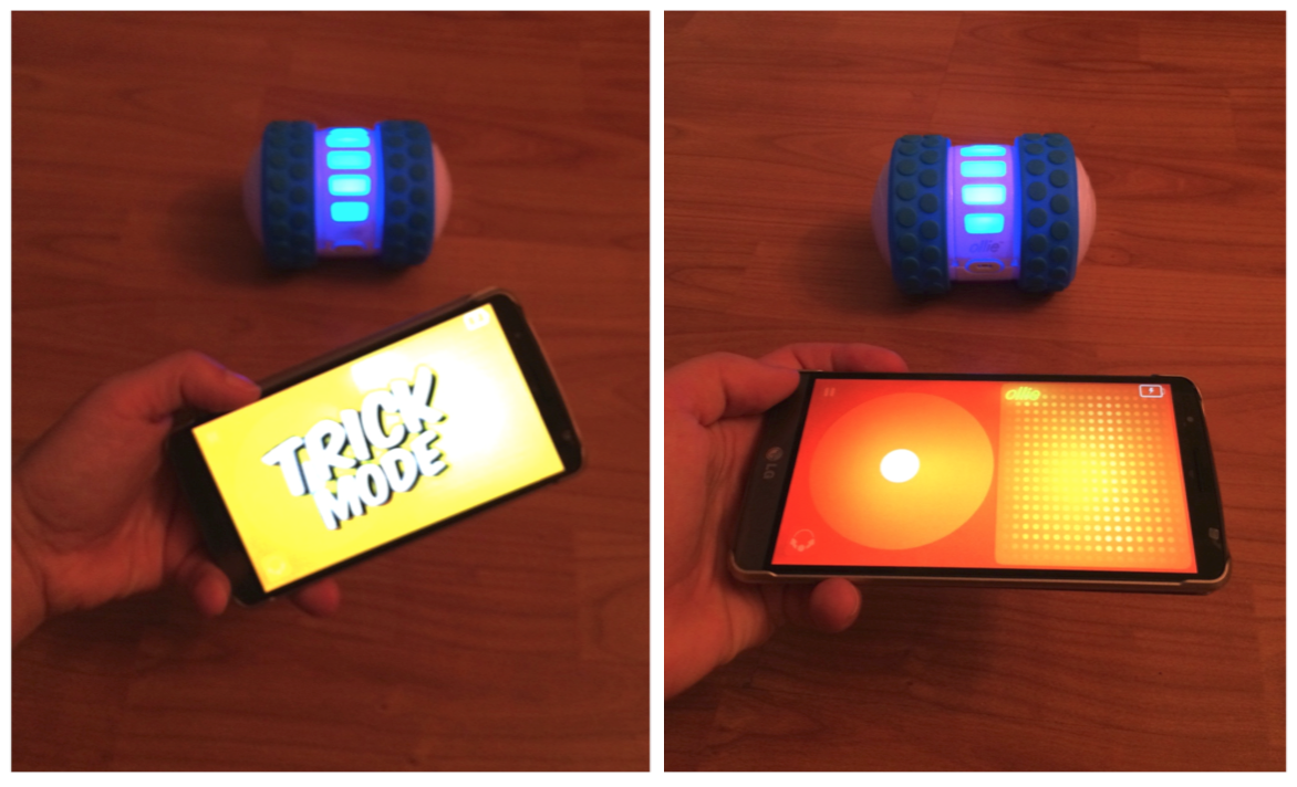 Meet Ollie by Sphero - trick mode LG G3