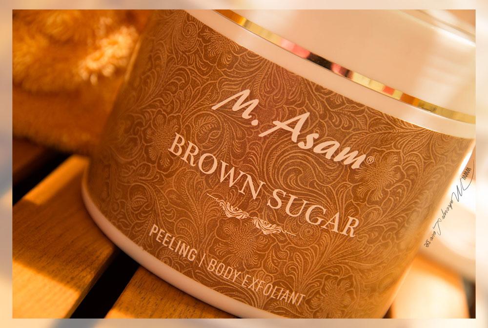 M. Asam Brown Sugar Peeling und Badezucker
