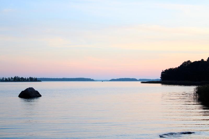 viikingan ranta maisema