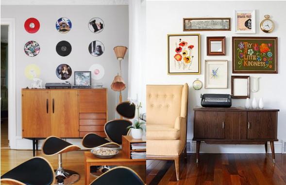 Aparador Matriz Jader Almeida ~  wunderkammer inspiration Ein kleines Vintage Sideboard A little vintage sideboard Un