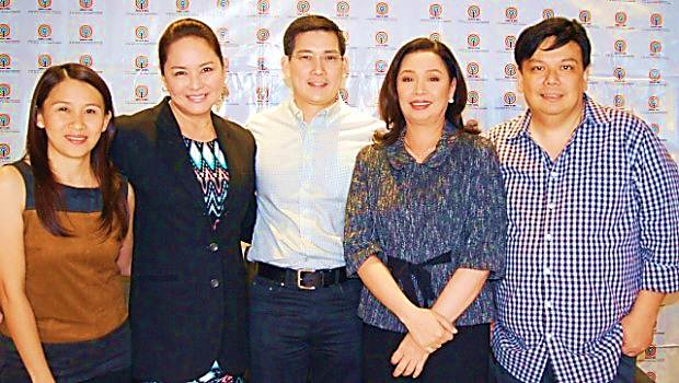 Richard Yap with His Wife