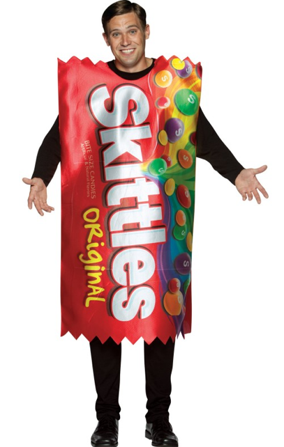 skittles - Halloween Food Costume
