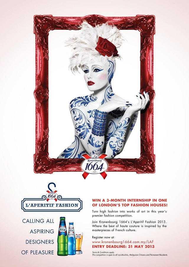 Kronenbourg 1664 L'Aperitif Fashion Calls For New Talents