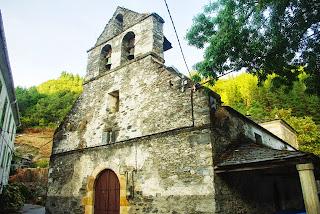 Ibias, Cecos, iglesia