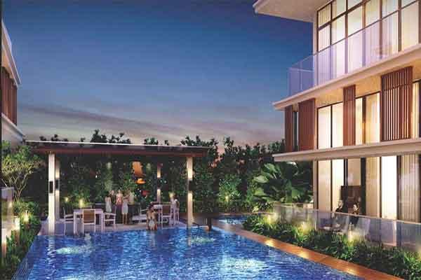 Bentley Residences Pool