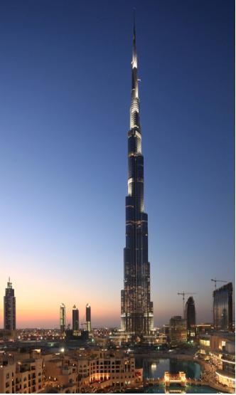 Rascacielos Burj khalifa,