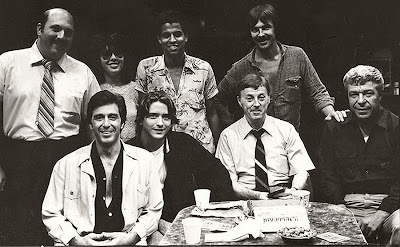 """American Buffalo"" by David Mamet, (actors)Al Pacino, James Hayden, Jose Angel Santana, and J.J. Johnston"