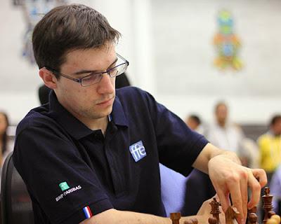 Le Français Maxime Vachier-Lagrave a résisté à Levon Aronian - Photo © site officiel