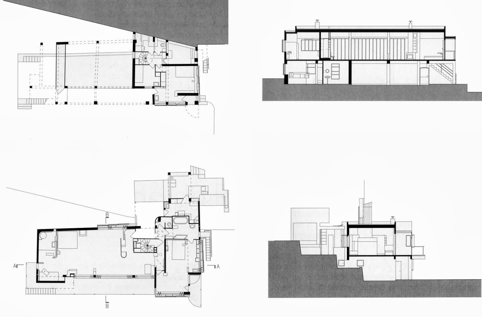 eileen gray e1027 floor plan - photo #12