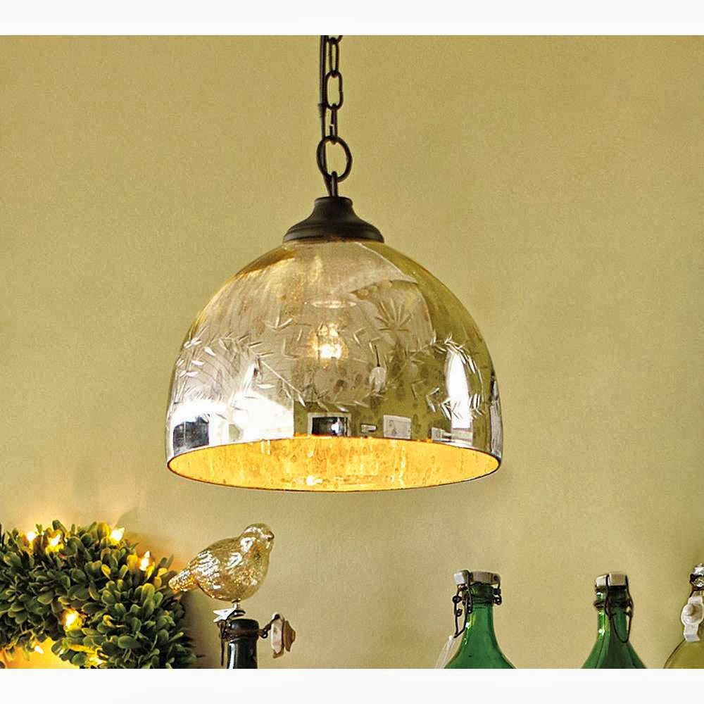 mercury glass lighting fixtures. via mercury glass lighting fixtures a