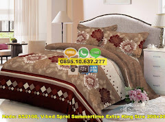 Harga V-bed Sprei Summertime Extra King Size 200×200 Jual
