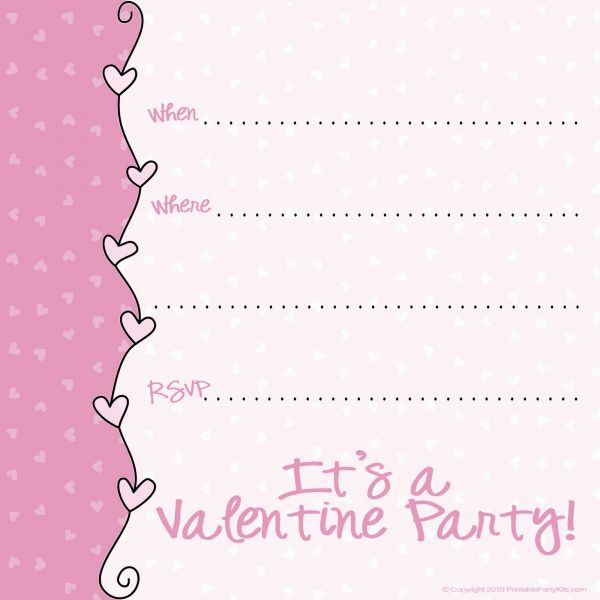 Gitmo Nation Update HOW TO MAKE A MONKEY PRINTABLE VALENTINE S – Valentine Party Invitation Template
