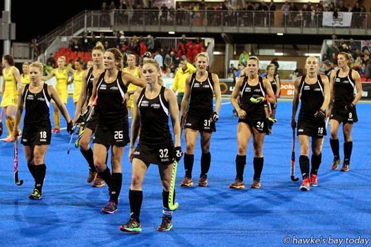 Australia beat New Zealand 3-2 in the final of the Festival of Hockey at Hawke's Bay Regional Sports Park, Hastings. photograph