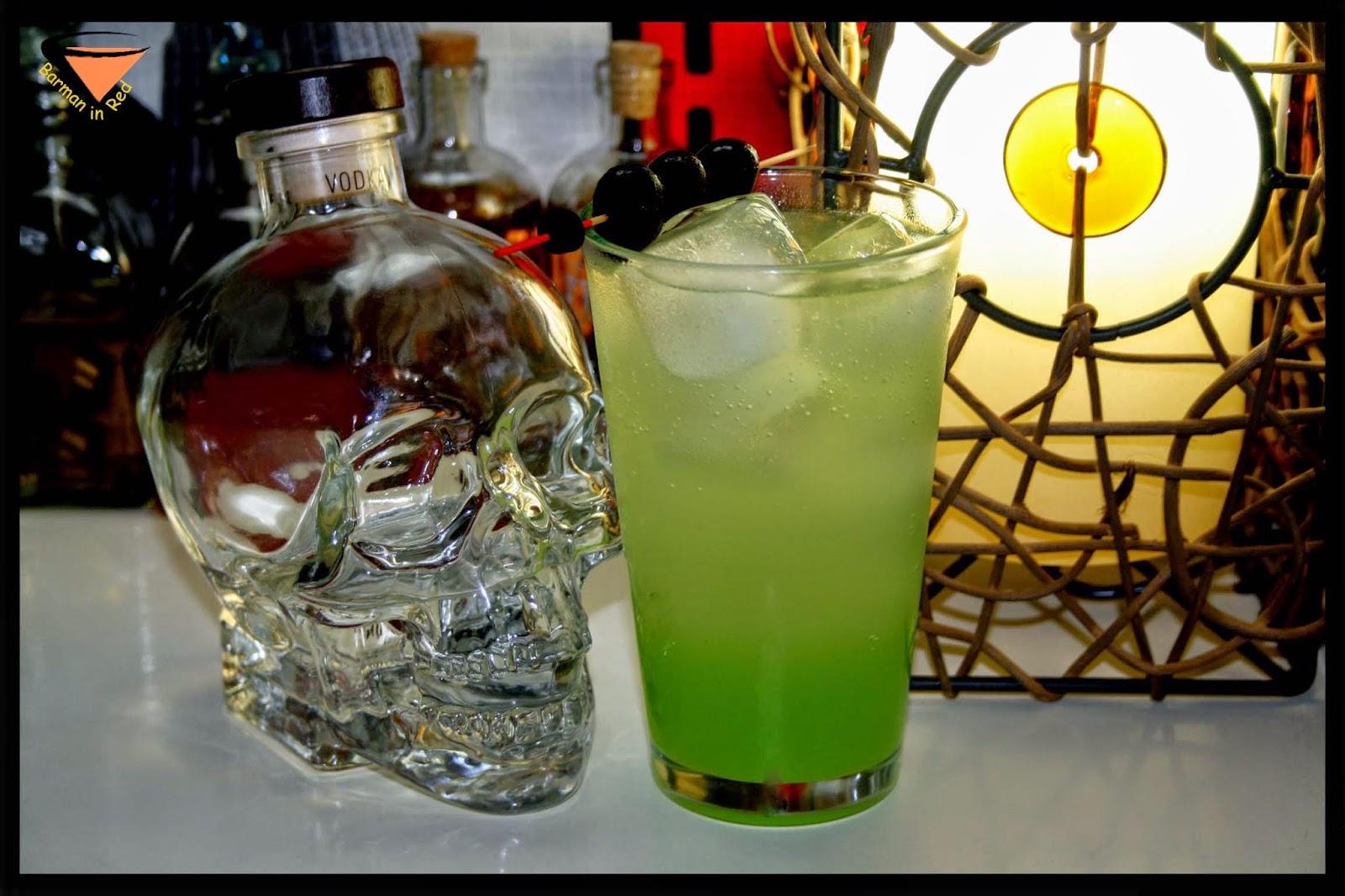 sueño verde coctel