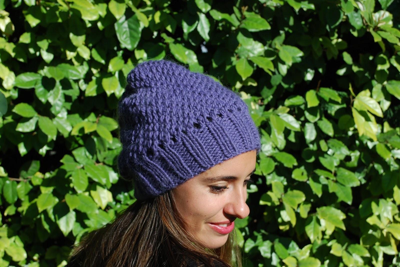 Carofoliz bonnet facile en andes de drops design - Tricot aiguilles circulaires magic loop ...