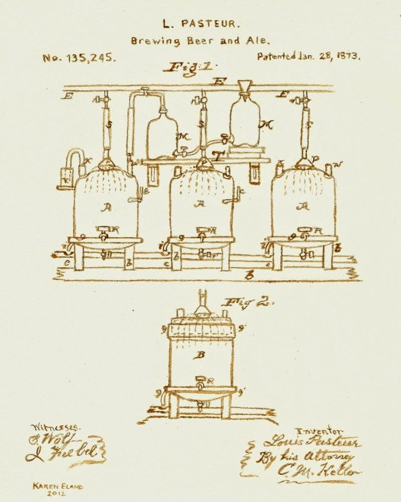 15-Pasteur-Patent-Karen Eland-Vintage-Looking-Beer-and-Water-Paintings-www-designstack-co