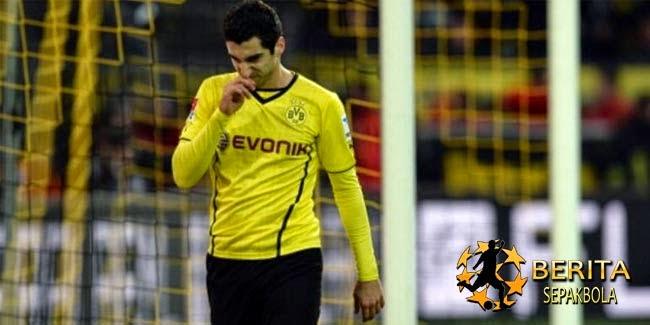 Mkhitaryan Cedera, Krisis Gelandang Dortmund Berlanjut