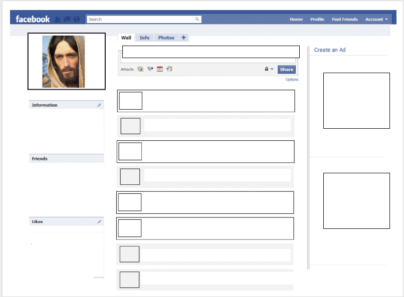 a woman in youth ministry if jesus had a facebook freebie