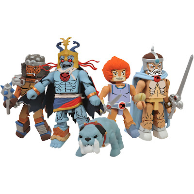San Diego Comic-Con 2013 Exclusive Thundercats Minimates Classic Series 4 Box Set - Grune the Destroyer, Mumm-Ra, Ma-Mutt, Prince Lion-O & Jaga