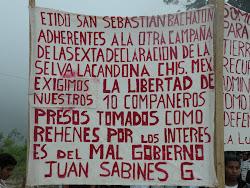 En solidaridad con San Sebatián Bachajón