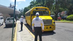 Verifica personal de la DGTE la aplicación de tarifas preferenciales, en Xalapa