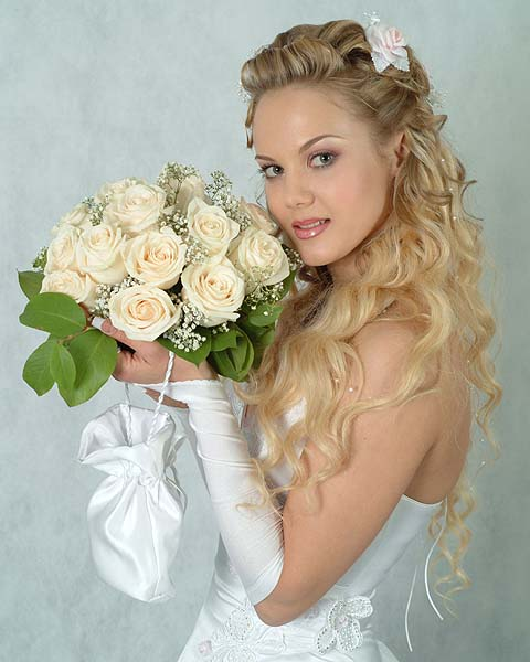 long hairstyle wedding