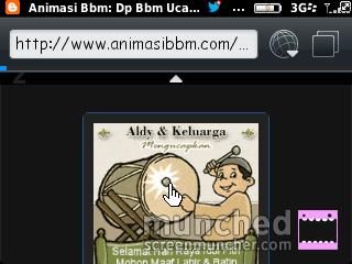 animasi bbm