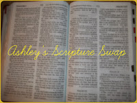 Ashley's Scripture Swap