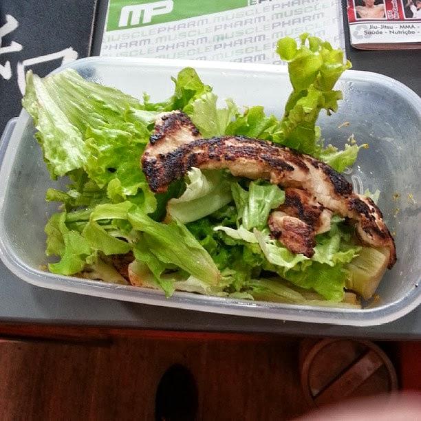 Dieta de Gustavo Almeida durante a fase zero carbo. Foto: Reprodução