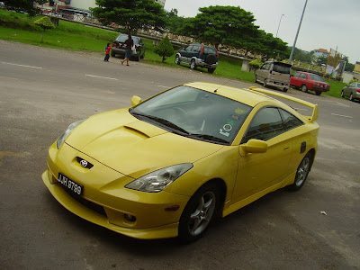 Yellow color Celica