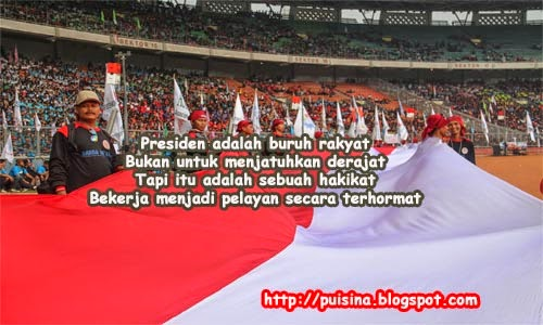 Puisi May Day for Presiden RI 2014
