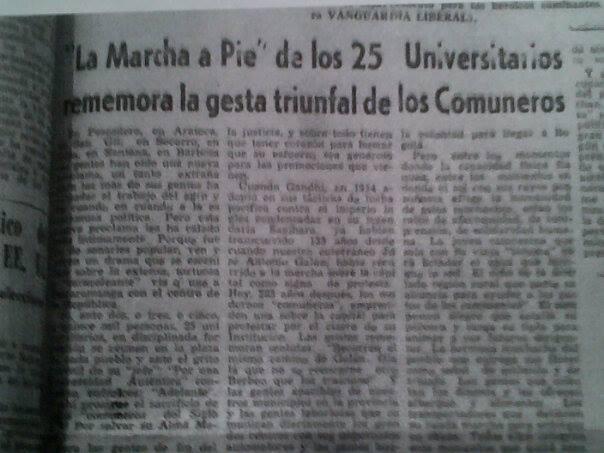 Resultado de imagen para LA HUELGA DE LA UIS 1964