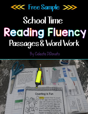 Reading Fluency for Back to School Freebie