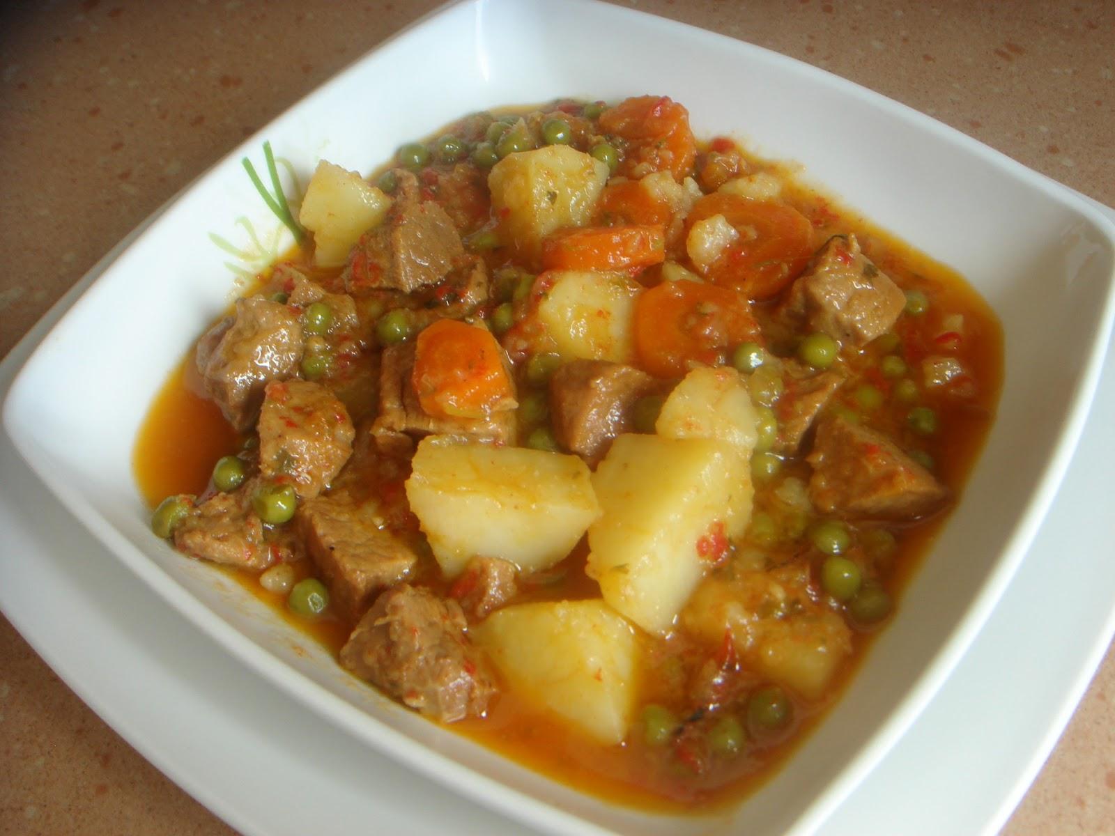 Carne estofada en olla r pida yo me lo guiso tu blog de recetas de cocina - Patatas en olla rapida ...