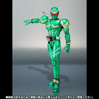 Bandai SH Figuarts Kamen Rider W Cyclone figure