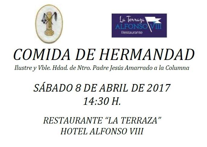 APÚNTATE A LA COMIDA DE HERMANDAD