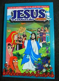 JESUS - O EVANGELHO INFANTIL em quadrinhos