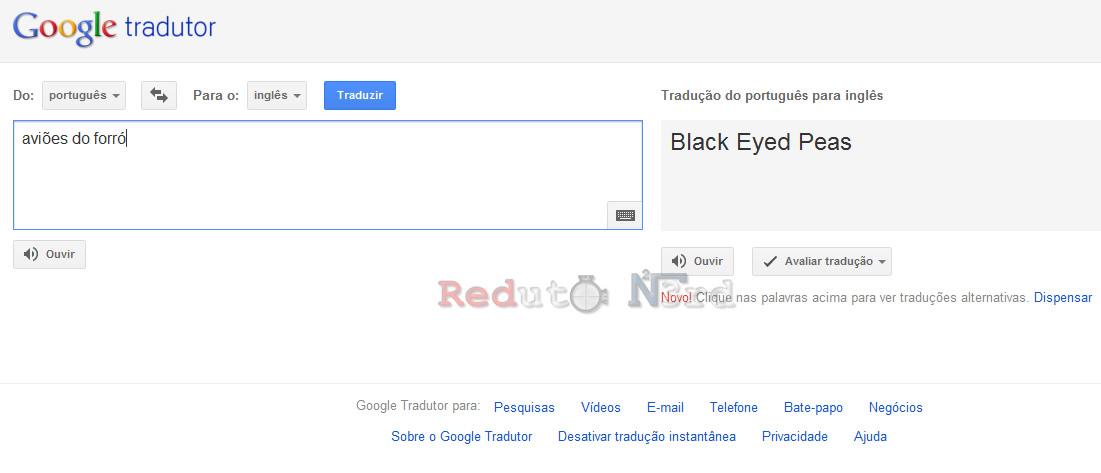 Reduto NERD: Humor: Maravilhas do Google Tradutor! - photo#16