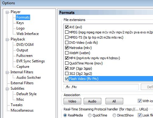 MPC-HC Format