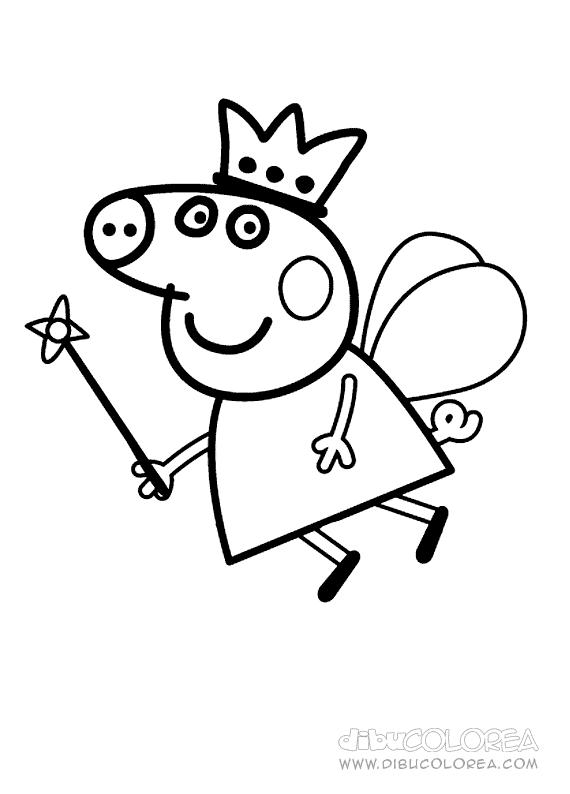 Peppa Pig Dibujos Para Colorear