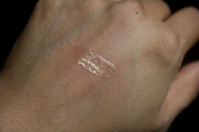 SEPHORA COLLECTION Ultra Shine Holographic Lip Gel in Good Fairy Swatch