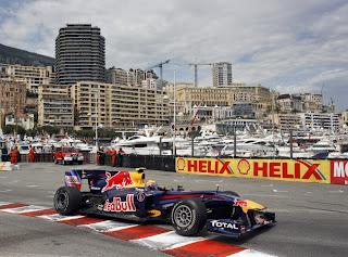 S. Vettel at 2013 Monaco GP