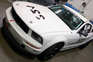 NASCAR-powered Mustang race car