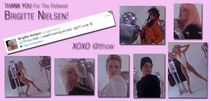 Brigitte Nielsen Retweeted Me!